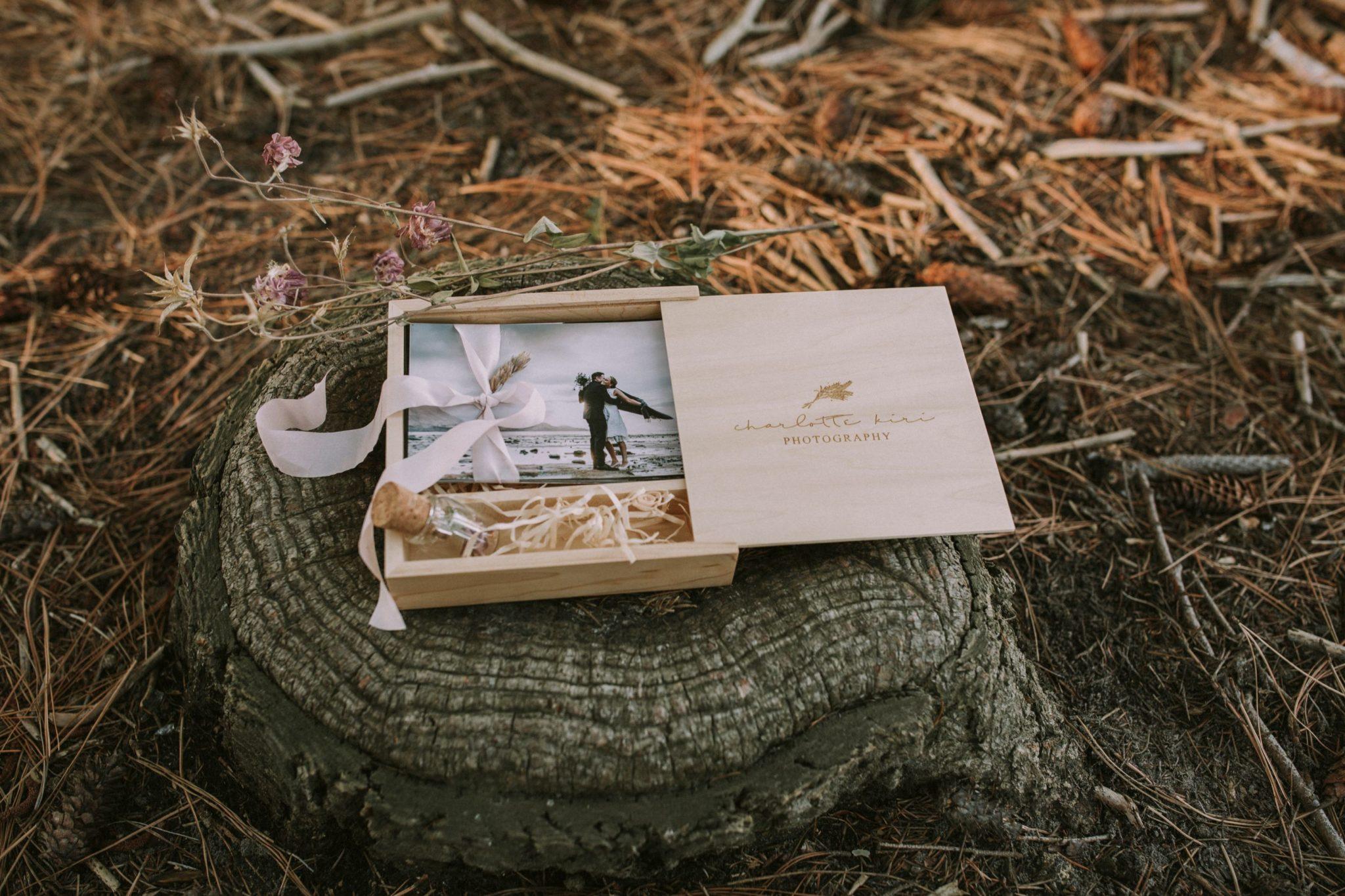 wanaka queenstown wedding photo box