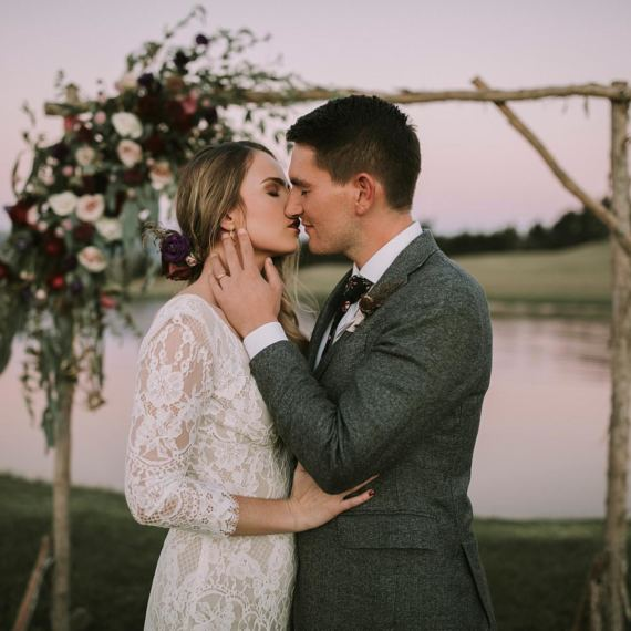 Olivia and Josh Corbridge Wedding