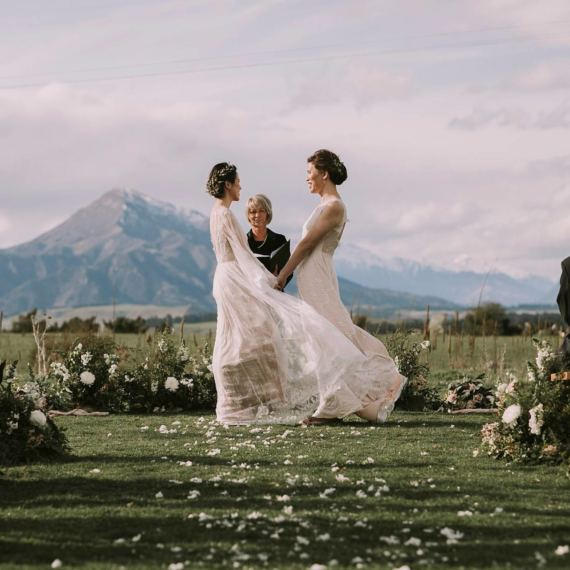same sex wedding wanaka