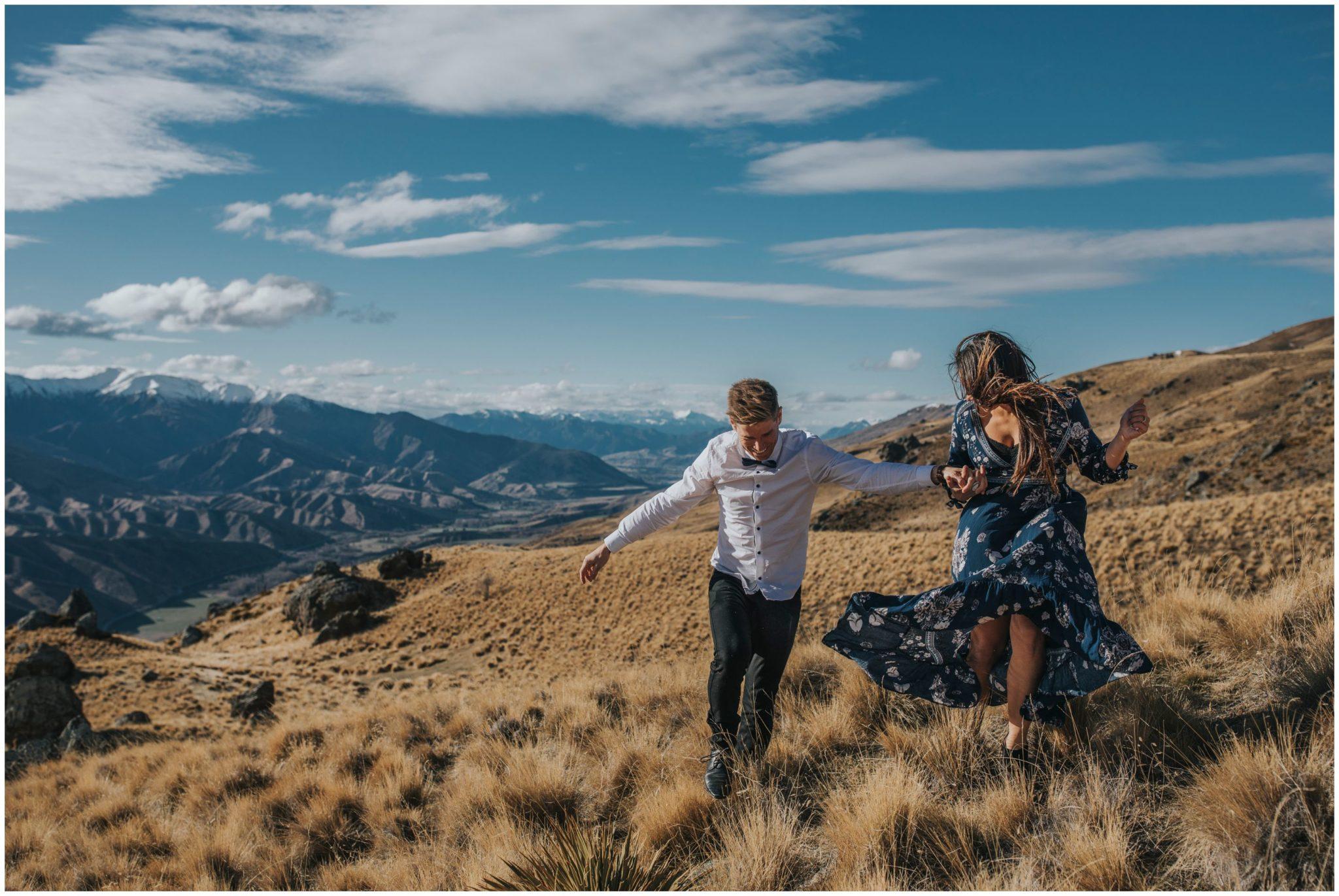 Wanaka engagement photography