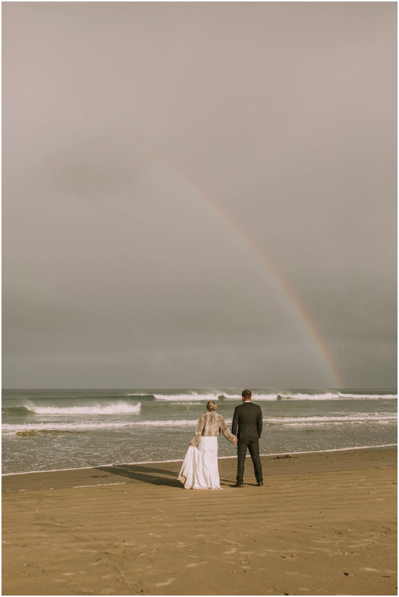 The Catlins rainbow