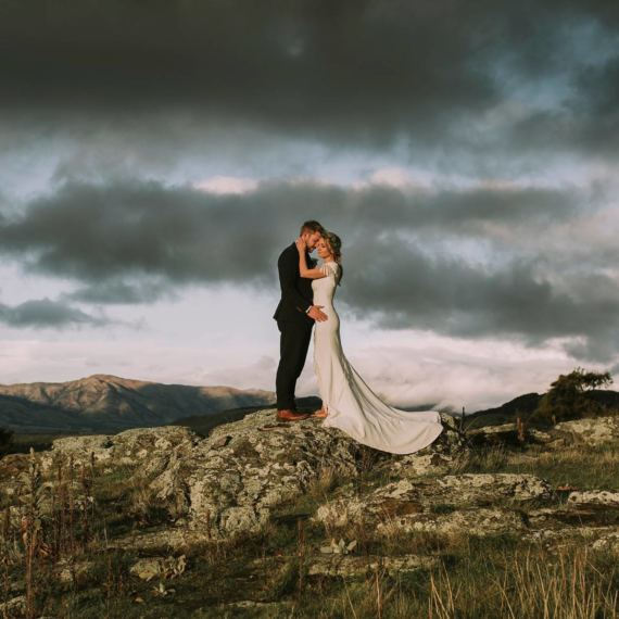 criffel station winter wedding
