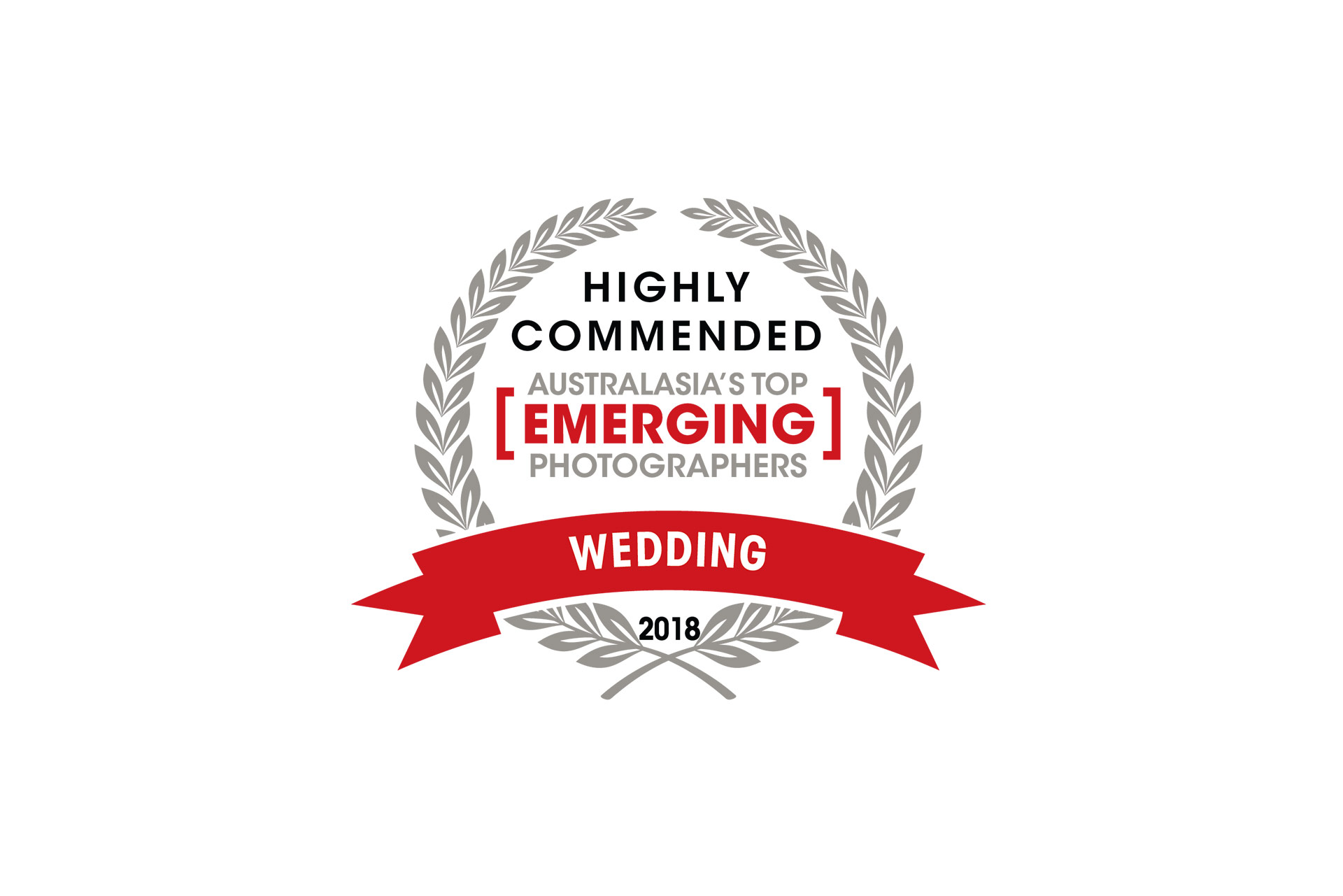 Charlotte Kiri Photography Highly Commended in Australasias Top Emerging Wedding Photographer competition