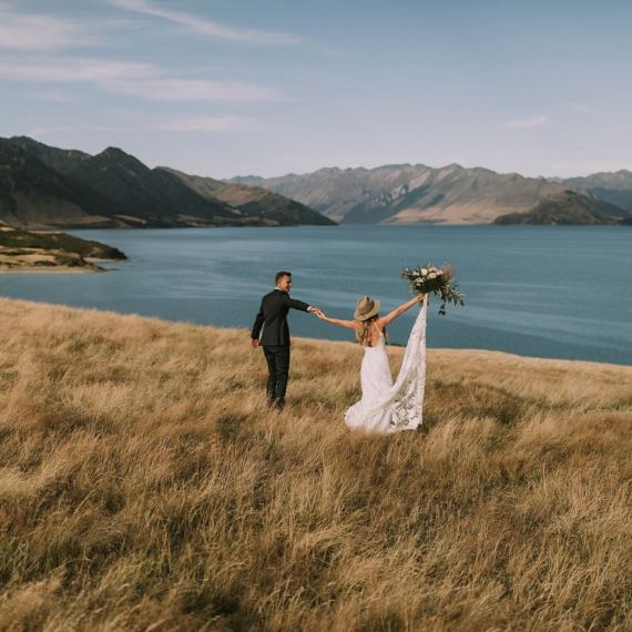 lake hawea wedding