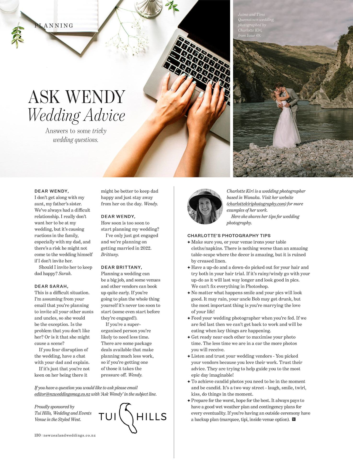 New Zealand Weddings Magazine