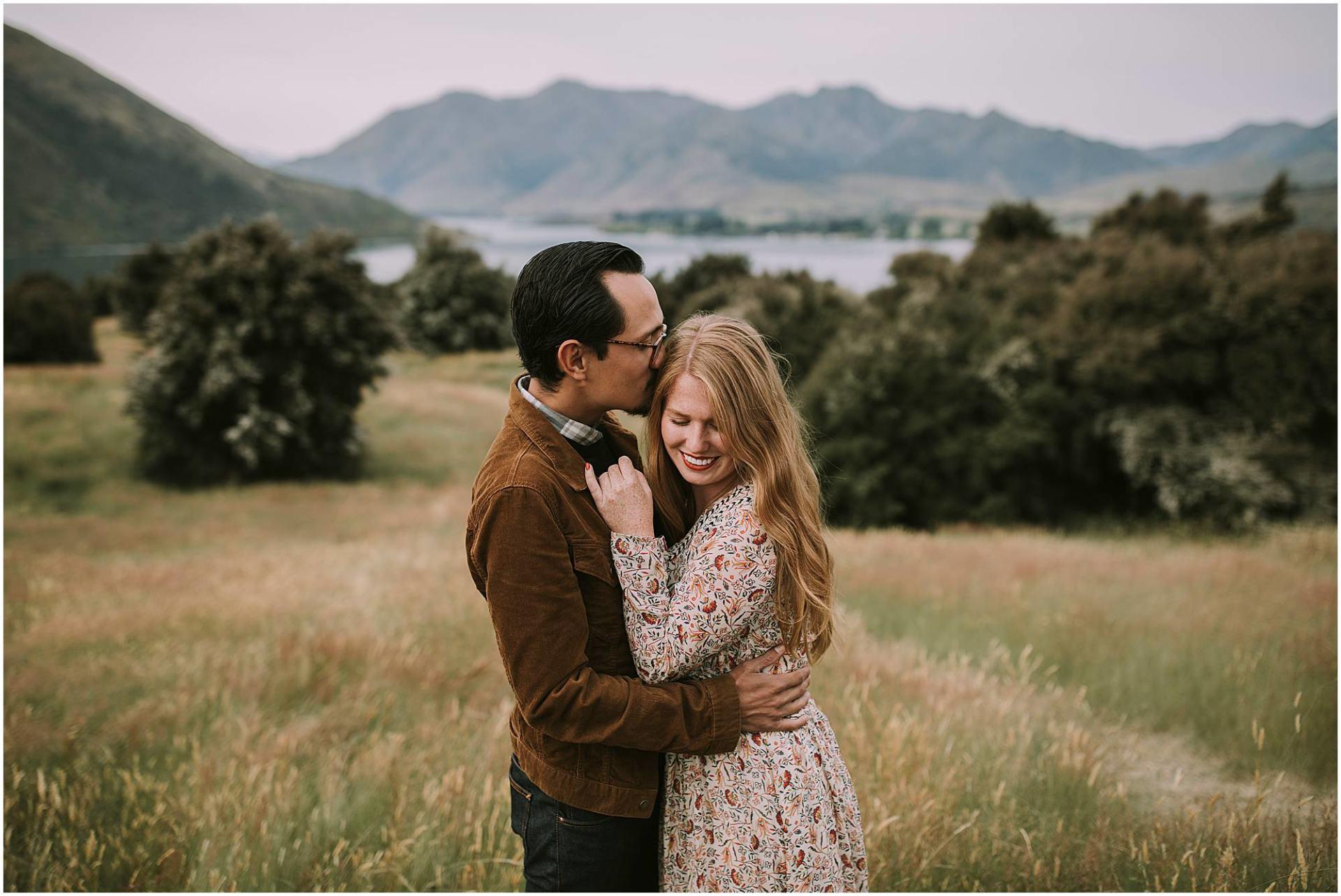 Wanaka engagement photographer